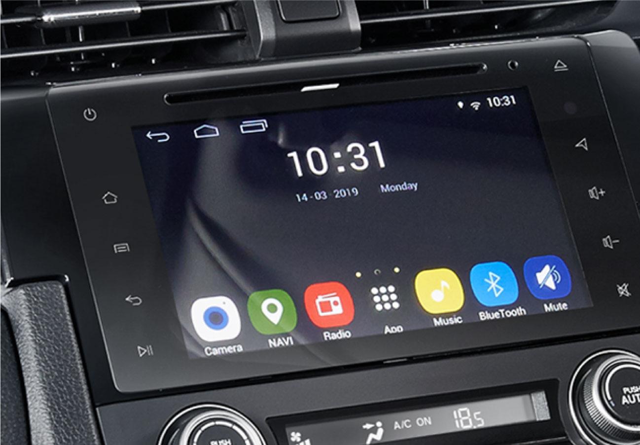7inc Advanced Capacitive Touchscreen Display Audio