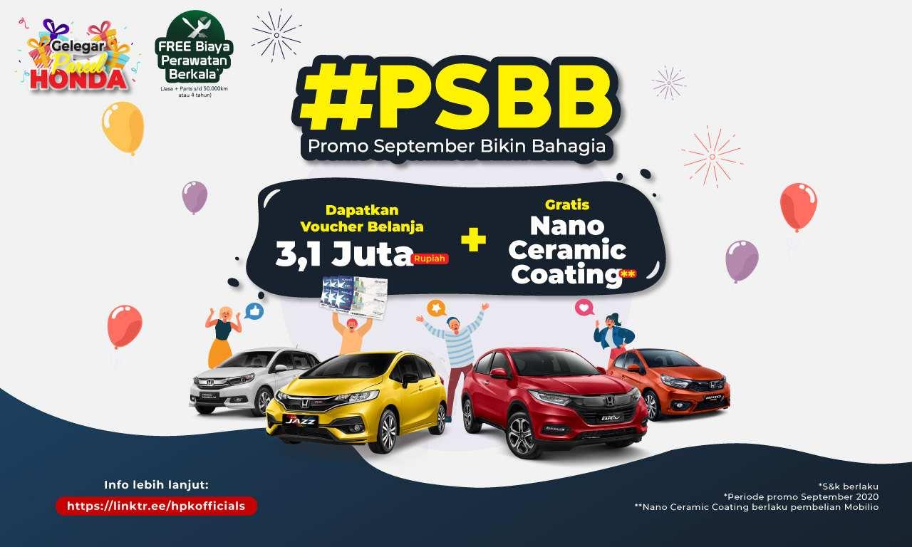 Promo September Bikin Bahagia Honda Perkasa Klaten 2020