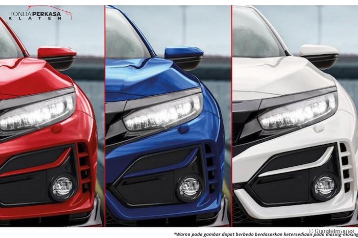 New Honda Civic Type R Semakin Sporty
