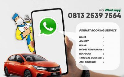 PPKM Berlaku, Wajib Booking Servis!