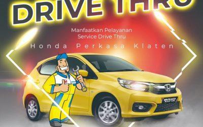 Servis Mudah Drive Thru Honda Perkasa Klaten