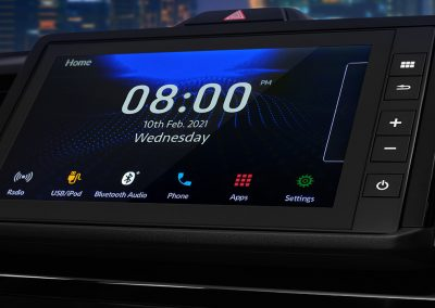 8 Advanced Capacitive Touchscreen Display Audio