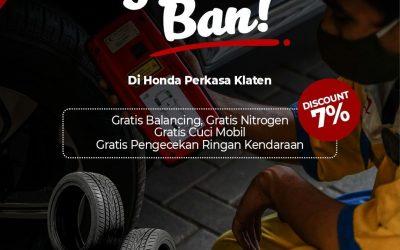Promo Ganti Ban Mobil Spesial Diskon