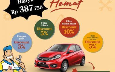 Promo Servis Makin Hemat Honda Perkasa Klaten